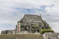 Festung von kerkyra Lizenzfreies Stockfoto
