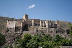 Festung von Khertvisi stockfotos