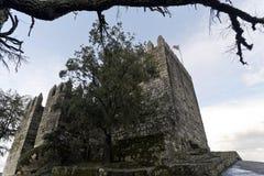 Festung von Lanhoso stockbild