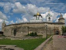 Festung von Pskov, Russland Stockfotos