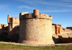 Festung von Salses stockfotos