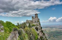 Festung von San Marino Stockfotos