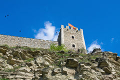 Festung von Skopje Makedonien Lizenzfreie Stockfotografie