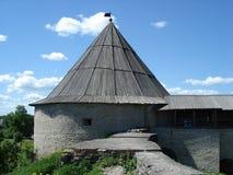 Festung von Staraya Ladoga Lizenzfreies Stockfoto