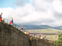 Festungs-Abdeckungen Stockbilder