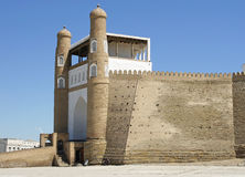 Festungs-Arche, Bukhara, Usbekistan Lizenzfreies Stockfoto