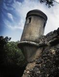 Festungs-Kontrollturm Stockfoto
