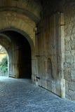 Festungs-Tür lizenzfreie stockbilder