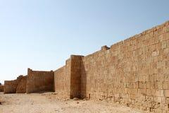 Festungs-Wand Stockfoto