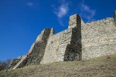 Festungsruinen stockfotografie