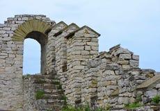 Festungsruinen Stockbild