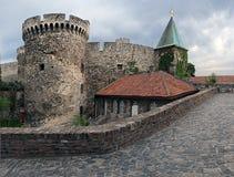 Festungsterrasse Stockfoto