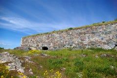 Festungswand Stockfoto