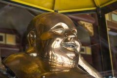 Fet Buddha av rikedom Ton Vietnam Arkivbilder