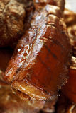 fet hemlagad marinated rökt meatpork Royaltyfri Fotografi