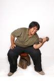 fet man Fotografering för Bildbyråer