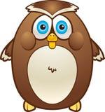 fet owl vektor illustrationer