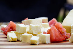 Feta cheese board Stock Photography
