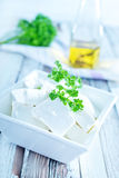 Feta cheese Royalty Free Stock Photography