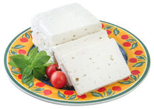 Feta cheese. Royalty Free Stock Images
