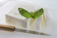Feta cheese Stock Image