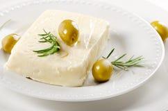 Feta cheese Stock Photography