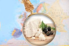 Feta Cheese from Greece Stock Photos