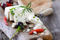 Feta cheese Stock Photography