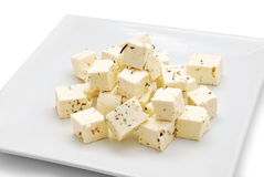 Feta cheese Royalty Free Stock Images