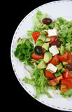 Feta Cheese Salad 1 Stock Photos