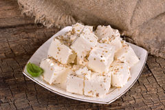 Feta cheese. Stock Photo
