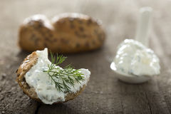 Feta cheese spread Stock Photography