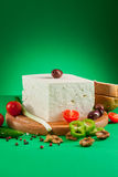 Feta cheese Royalty Free Stock Photo