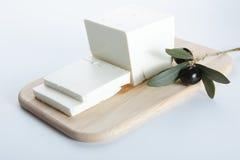 feta de fromage Photographie stock libre de droits