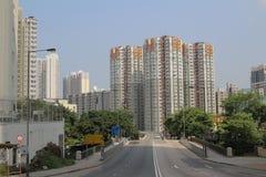 Feta Kwong St Flyover fotografering för bildbyråer