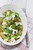 Feta and Potato Salad Stock Photo