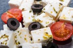 Feta-salade Royalty-vrije Stock Afbeelding