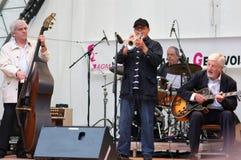 Fete de la Musique in Geneve Stock Image