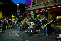Fete de la Musique Grenoble Royalty Free Stock Photos