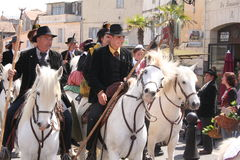 Fete des Gardians, Arles, Provence Royalty Free Stock Images
