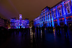 Fete des Lumieres 2014 Stock Photos