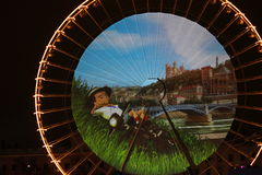 Fete des Lumieres 2014 Stock Images