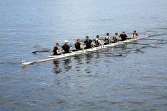 Fetes de Geneve: Canoe race Stock Image