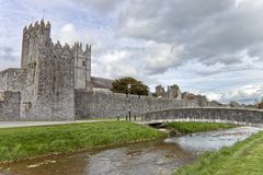 Fethard abbey in Co. Tipperary, Ireland. Stock Images