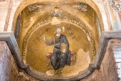 Fethiye Camii, igreja de Pammakaristos, igreja bizantina em Istambul, Turquia fotos de stock