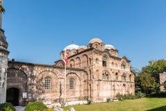 Fethiye Camii, Pammakaristos Church, Byzantine church in Istanbul,Turkey. Exterior view of Fethiye Camii (Pammakaristos Church,Byzantine church) in Carsamba stock photos