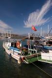 Fethiye die Türkei stockbilder