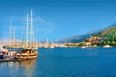 Fethiye die Türkei lizenzfreie stockfotos