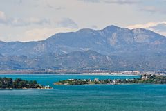 Fethiye harbour entrance view Royalty Free Stock Photo