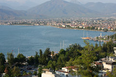 Fethiye harbour, Turkey Royalty Free Stock Photography
